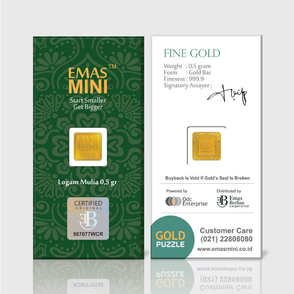 Emas Mini 0,5 gram